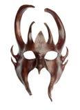 Máscara isolada do davil Fotografia de Stock Royalty Free