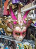 Máscara italiana del carnaval Imagen de archivo