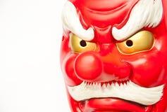 Máscara japonesa del demonio Imágenes de archivo libres de regalías
