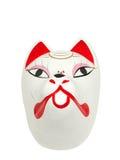 Máscara japonesa do lobo fotografia de stock