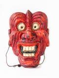 Máscara japonesa do teatro do vintage tradicional Foto de Stock Royalty Free