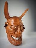 Máscara japonesa tradicional do teatro de Noh Imagens de Stock