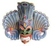 Máscara-lembrança indonésia tradicional (do Balinese) Fotografia de Stock