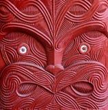 Máscara maorí Imágenes de archivo libres de regalías