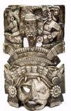 Máscara maya 4 Imagen de archivo libre de regalías