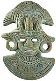 Máscara maya azteca de dios del maíz - México Imágenes de archivo libres de regalías