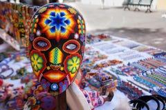 Máscara mexicana Fotografía de archivo
