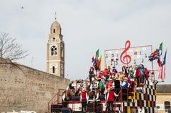 Máscara miusic do carnaval 2014 Imagem de Stock