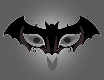 Máscara negra Imágenes de archivo libres de regalías