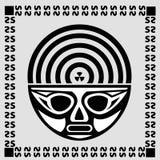 Máscara negra Fotos de archivo
