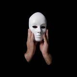 Máscara anônima Imagens de Stock Royalty Free