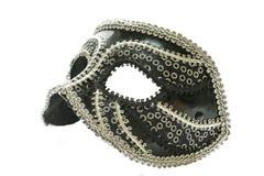 Máscara no branco Fotografia de Stock