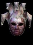 Máscara púrpura de Florencia fotografía de archivo libre de regalías