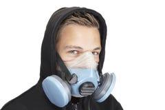 Máscara para la seguridad Fotografía de archivo libre de regalías