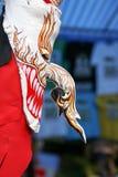 Máscara Phi-Ta-Khon fotografia de stock
