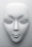 Máscara protectora branca Imagens de Stock