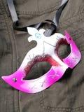 Máscara protectora do partido fotos de stock
