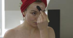 Máscara protetora da hidratação filme