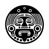 Máscara protetora do Maya ilustração stock