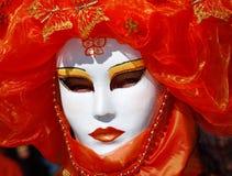 Máscara que desgasta de la persona Imagenes de archivo