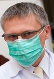 Máscara que desgasta del doctor fotos de archivo