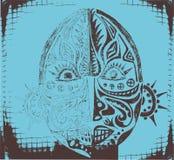 Máscara religiosa étnica tribal Fotografía de archivo libre de regalías