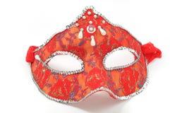 Máscara roja Fotos de archivo