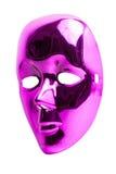 Máscara rosada aislada Foto de archivo
