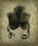 Máscara surrealista ilustración del vector