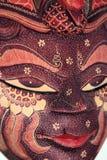 Máscara tailandesa Imagem de Stock Royalty Free