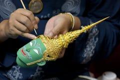 Máscara tailandesa diminuta fotos de stock