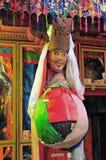 Máscara tibetana de Wuge- A Foto de archivo libre de regalías