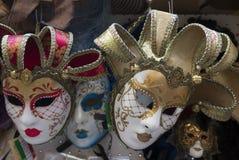 Máscara tradicional de Venecia fotografía de archivo