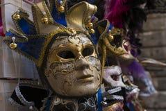 Máscara tradicional de Venecia imágenes de archivo libres de regalías