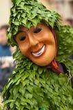 Máscara tradicional esloveno de Laufar Fotografia de Stock Royalty Free