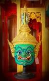 Máscara tradicional tailandesa Fotografia de Stock Royalty Free