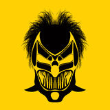 Máscara tribal ilustração do vetor