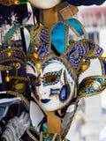 Máscara Venecia del carnaval Imagen de archivo