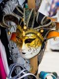 Máscara Venecia del carnaval fotos de archivo
