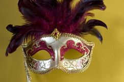 Máscara veneciana 1 Imagen de archivo libre de regalías