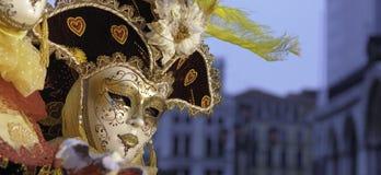 Máscara veneciana Imágenes de archivo libres de regalías