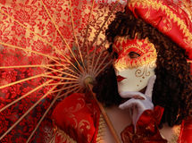 Máscara veneciana Fotografía de archivo libre de regalías