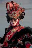 Máscara veneciana foto de archivo