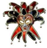 Máscara veneciana aislada del bromista Imagen de archivo