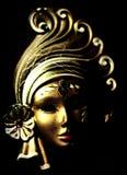 Máscara veneciana (claroscuro) foto de archivo libre de regalías