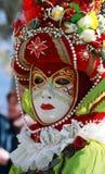 Máscara veneciana colorida Foto de archivo libre de regalías