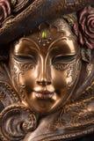 Máscara veneciana de la decoración Fotos de archivo