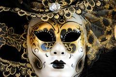 Máscara veneciana del carnaval Foto de archivo