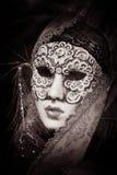 Máscara veneciana del carnaval Fotos de archivo libres de regalías