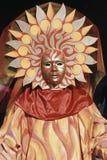 Máscara veneciana del carnaval Imágenes de archivo libres de regalías